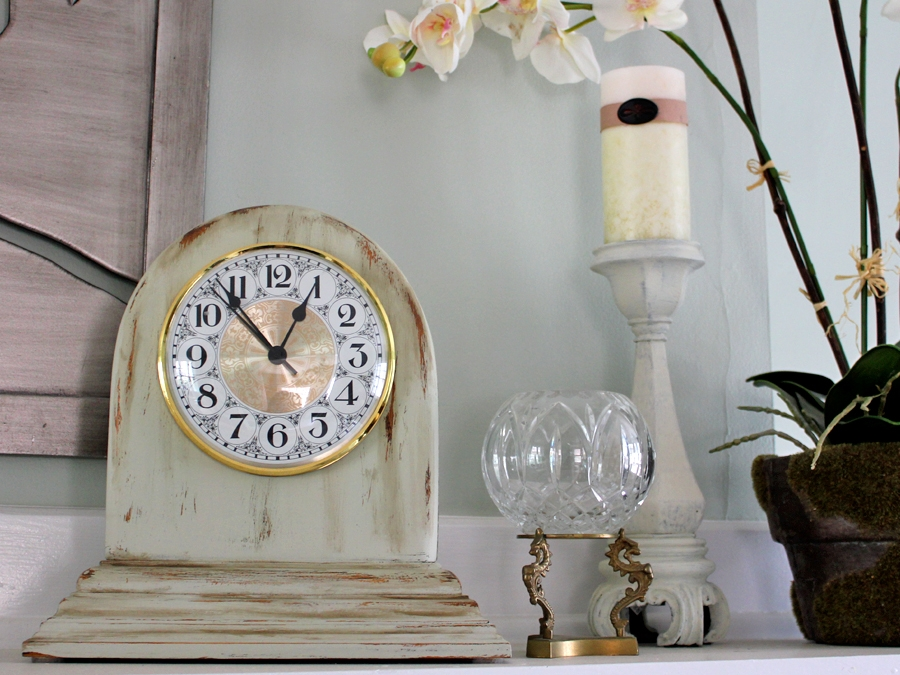 Wood Clock Makerover