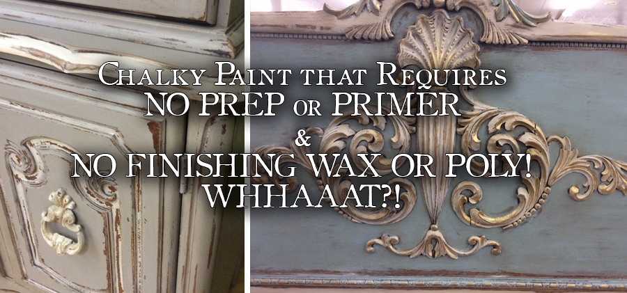 Coming Soon! Chalky Paint Review